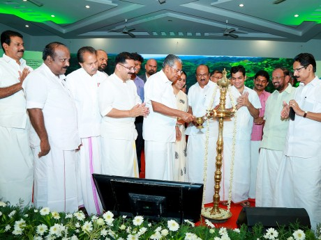 Chief Minister Pinarayi Vijayan laid foundation stone for Brahmapuram Waste-to-Energy Plant